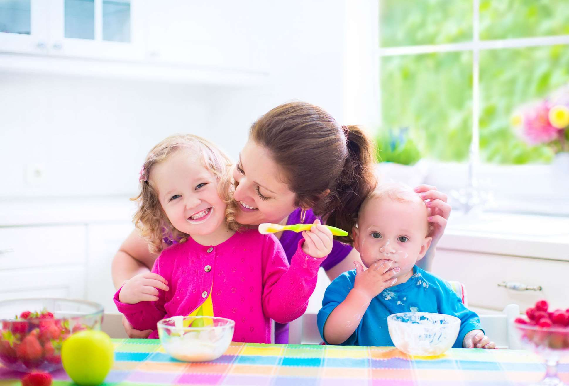 mama si copii