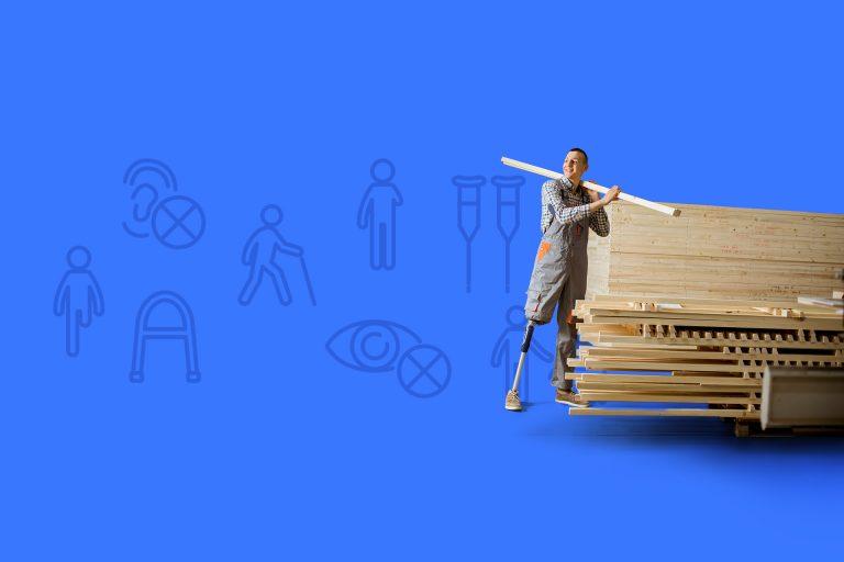 Locuri de muncă pentru persoanele cu dizabilități – subcategorie nouă și gratuită pe OLX